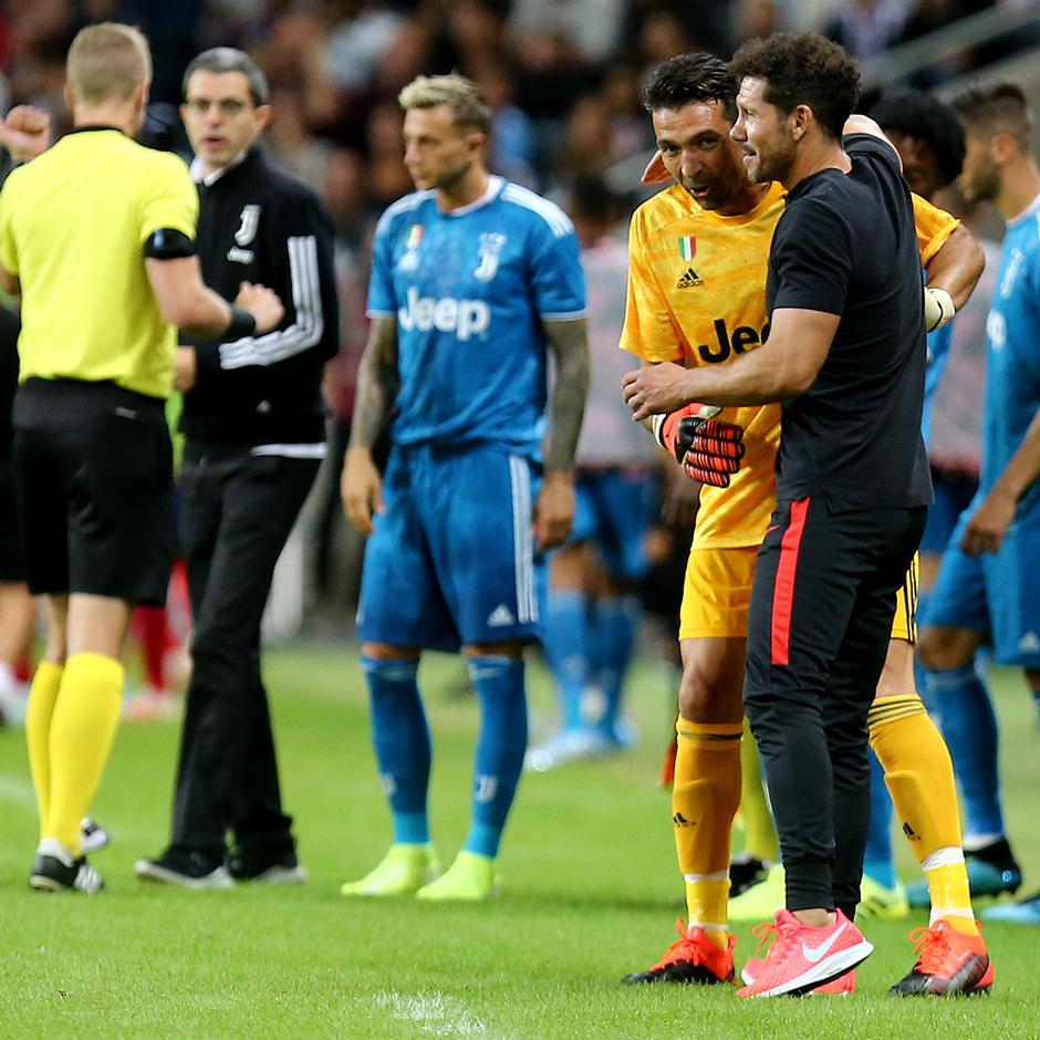 Temp. 19-20 | Atlético de Madrid - Juventus | Atleti Summer Tour | Buffon y Simeone