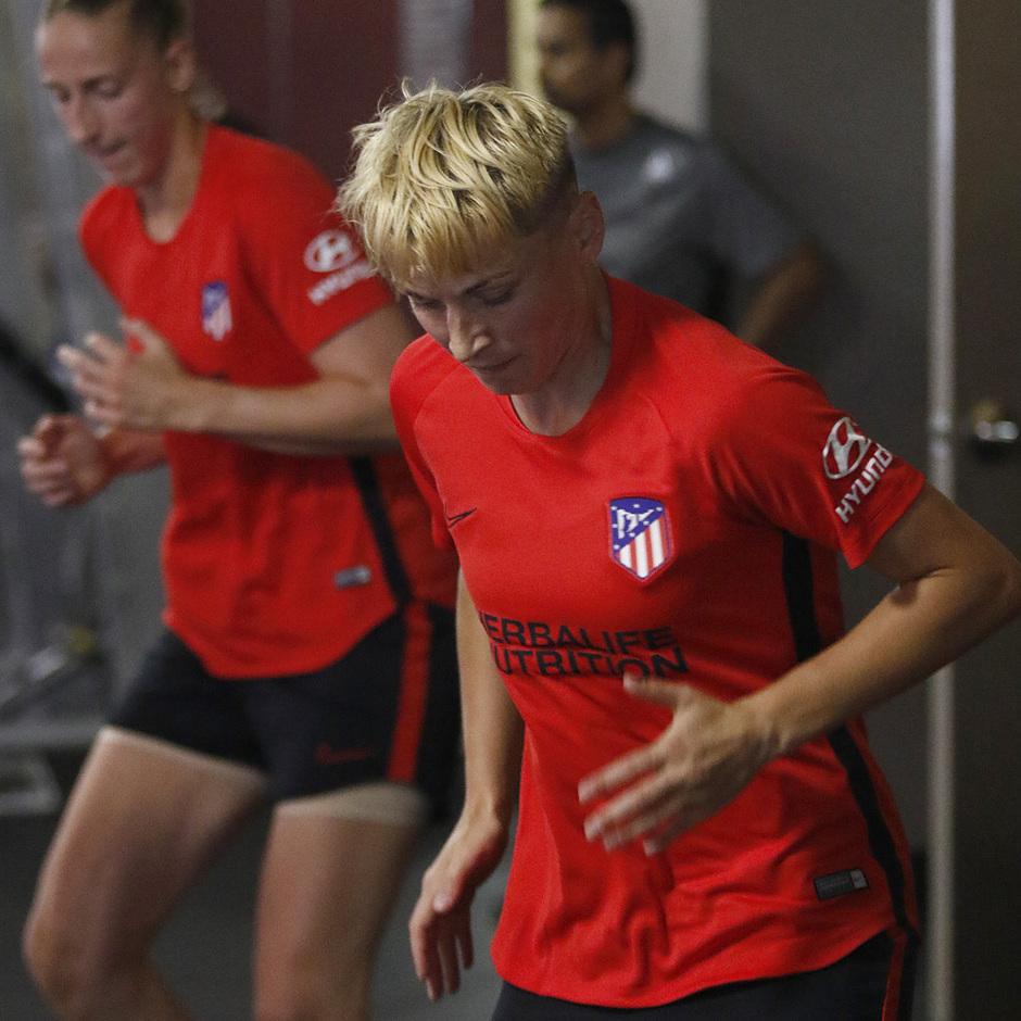 Temporada 19/20 | Entrenamiento del Atlético femenino en Raleigh | Natiia