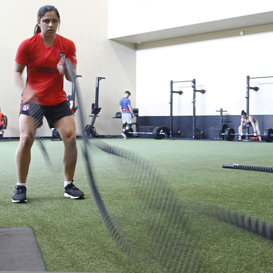 Temporada 19/20 | Entrenamiento del Atlético femenino en Raleigh | Alex Chidiac