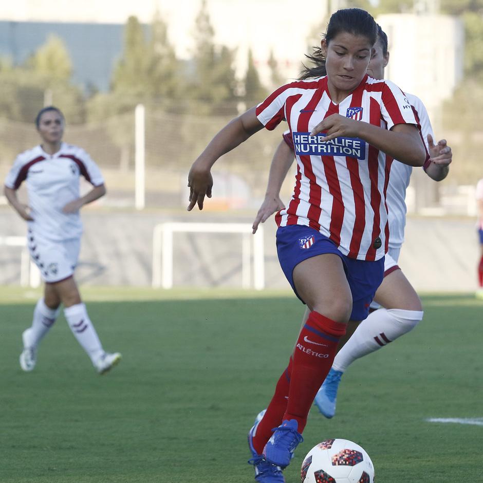 Temporada 19/20 | Atlético de Madrid Femenino - Fundación Albacete | Triangular | Anita Marcos