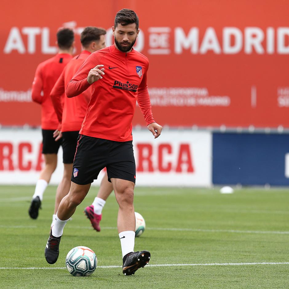Temp.2019-2020. Entrenamiento del primer equipo. Ciudad Deportiva Wanda. 13/09/2019. Felipe