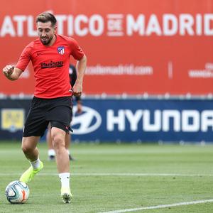 Temp.2019-2020. Entrenamiento del primer equipo. Ciudad Deportiva Wanda. 13/09/2019. Herrera