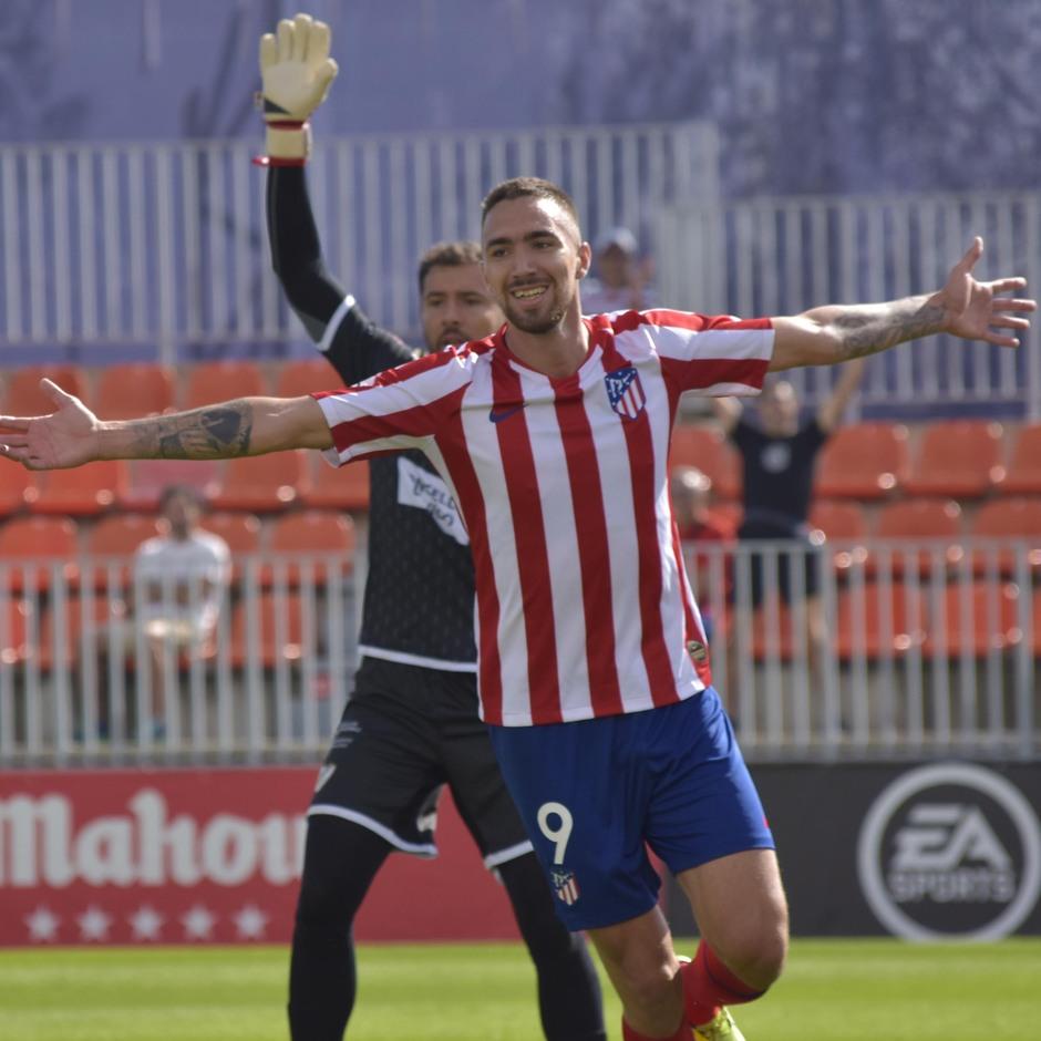 Temporada 19/20   Atlético de Madrid B - Coruxo   Darío