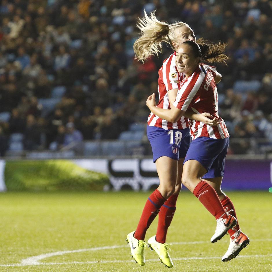 Temporada 19/20 | Manchester City - Atlético de Madrid Femenino | Charlyn y Toni Duggan