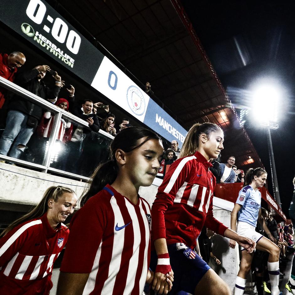 Temporada 19/20   La Otra Mirada   Atlético Femenino - Manchester City   Laia