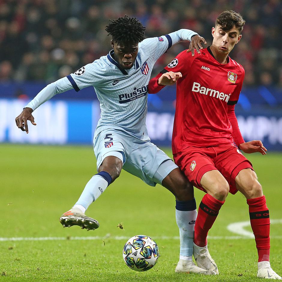 Temp. 19/20 | Bayer Leverkusen-Atlético de Madrid | Thomas