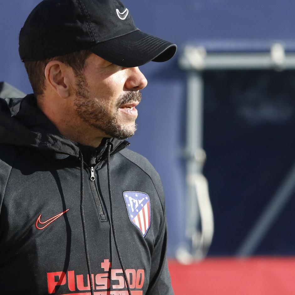 Temporada 19/20 | Entrenamiento del primer equipo en la Ciudad Deportiva Wanda | Simeone
