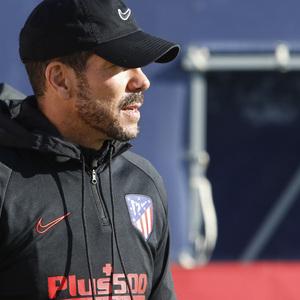 Temporada 19/20   Entrenamiento del primer equipo en la Ciudad Deportiva Wanda   Simeone