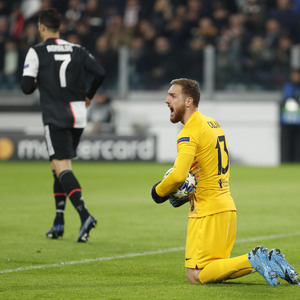 Temp. 19/20. Liga de Campeones. Juventus-Atlético de Madrid. Oblak