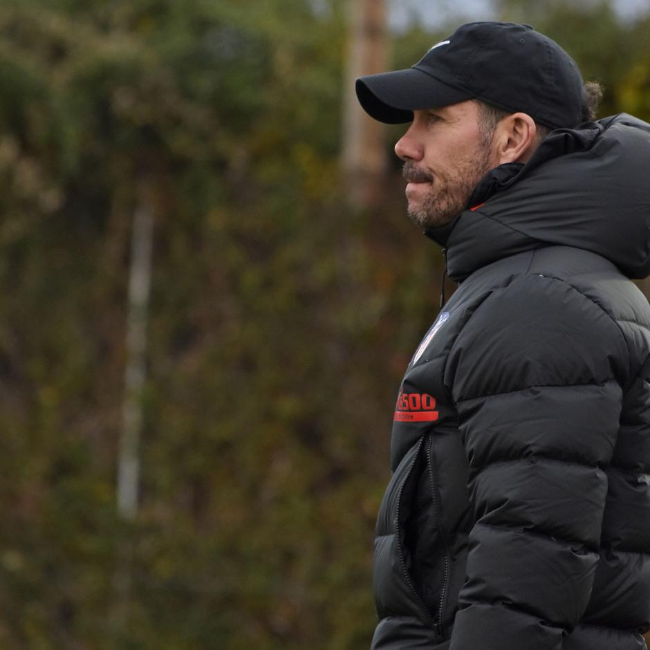 Temporada 19/20. Entrenamiento en la ciudad deportiva Wanda | Simeone