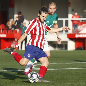 Temporada 19/20. Youth League. Atlético de Madrid Juvenil A - Lokomotiv. Salido