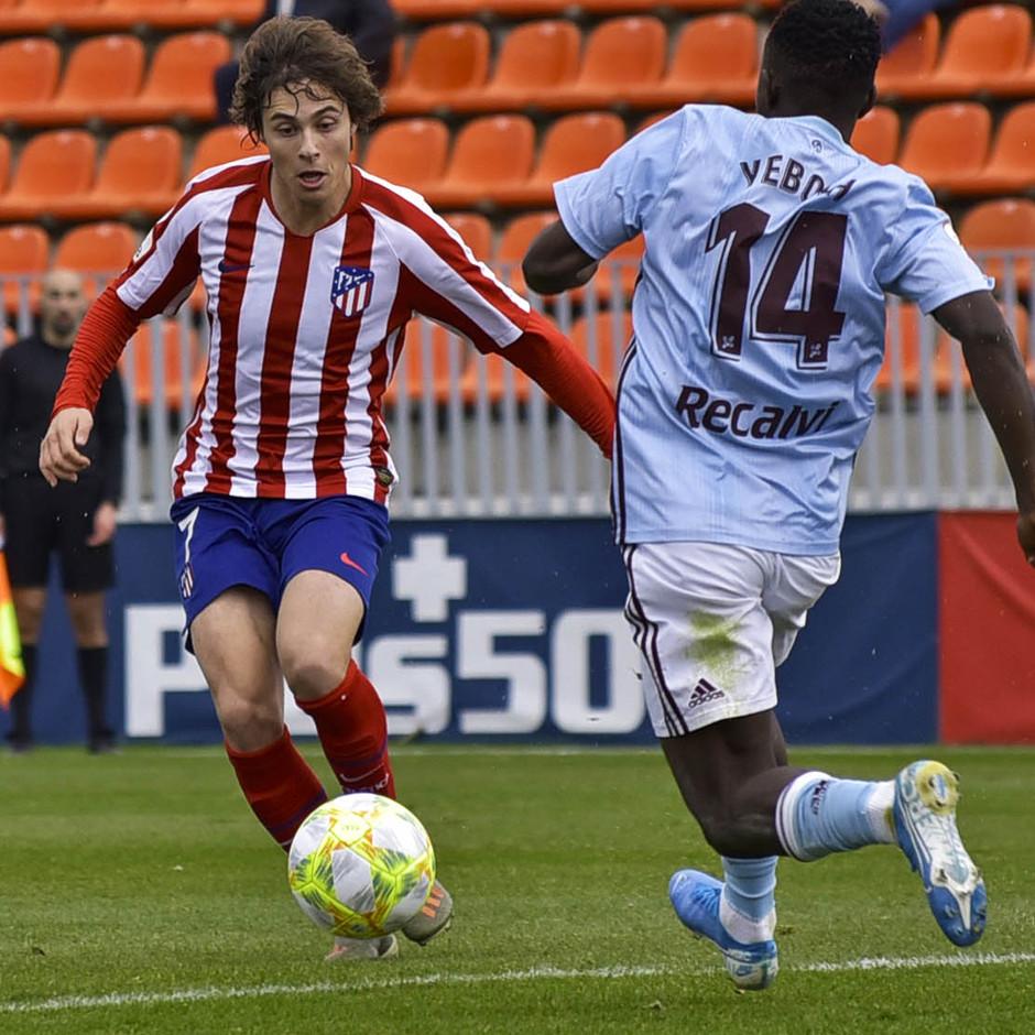 Temporada 19/20 | Atlético de Madrid B - Celta B | Riquelme