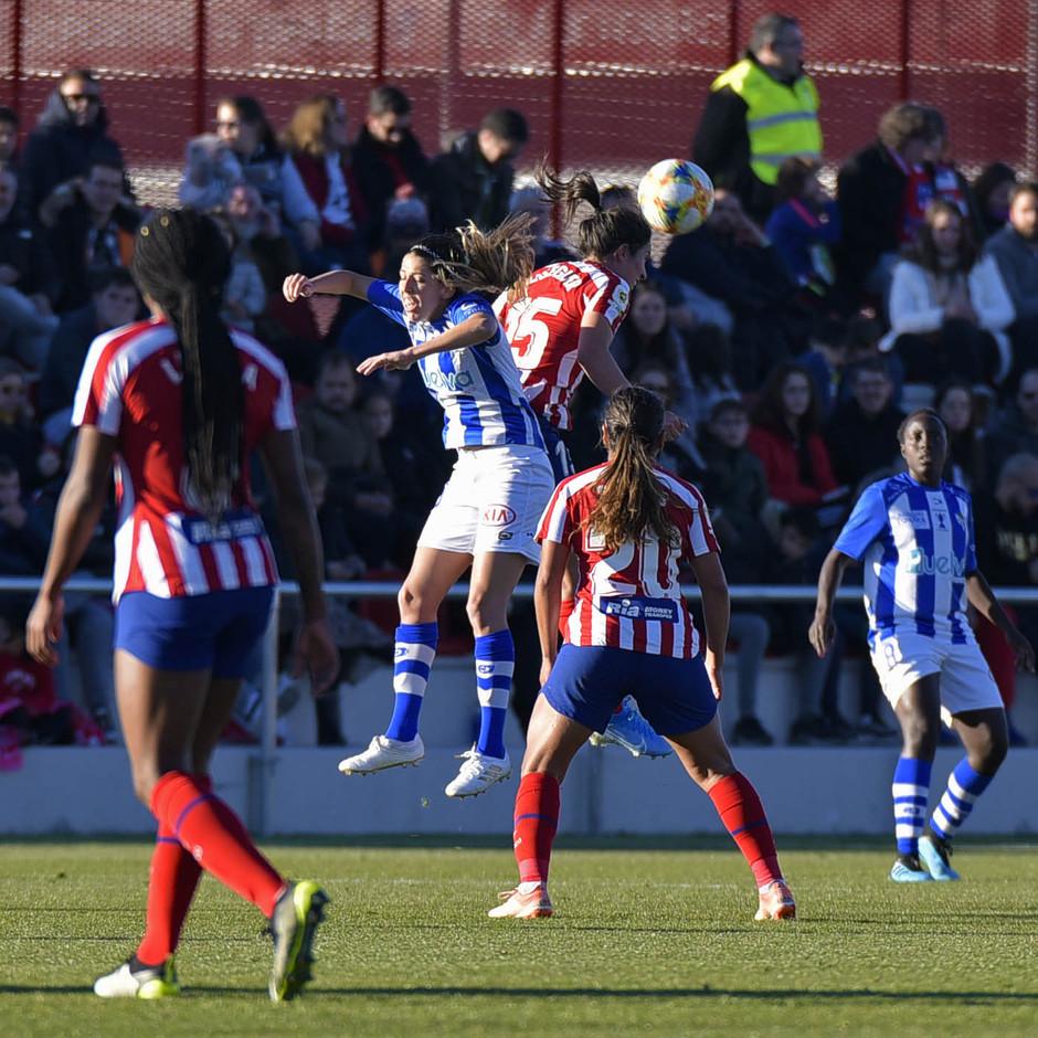 Temporada 19/20 | Atlético de Madrid Femenino - Sporting de Huelva. Meseguer