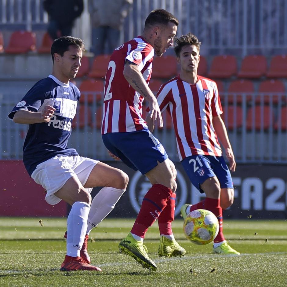 Temp 19/20 | Atlético de Madrid B - Marino de Luanco | Ricard