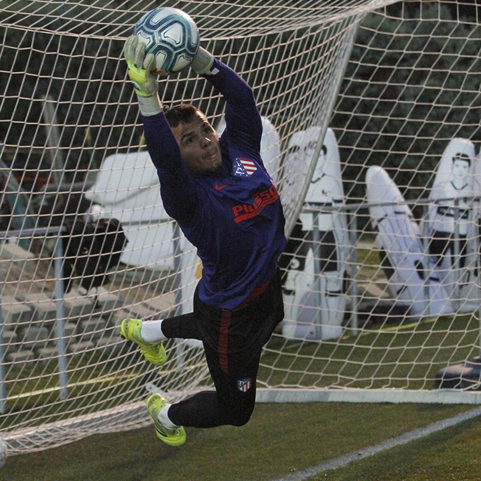 Temporada 19/20 | 14/01/2020 | Entrenamiento en la Ciudad Deportiva Wanda | Dos Santos