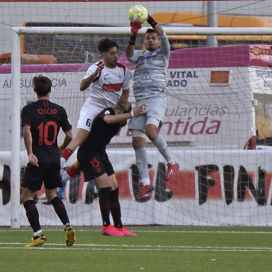 Temp. 19-20 | UD Sanse - Atlético de Madrid B | Álex Dos santos