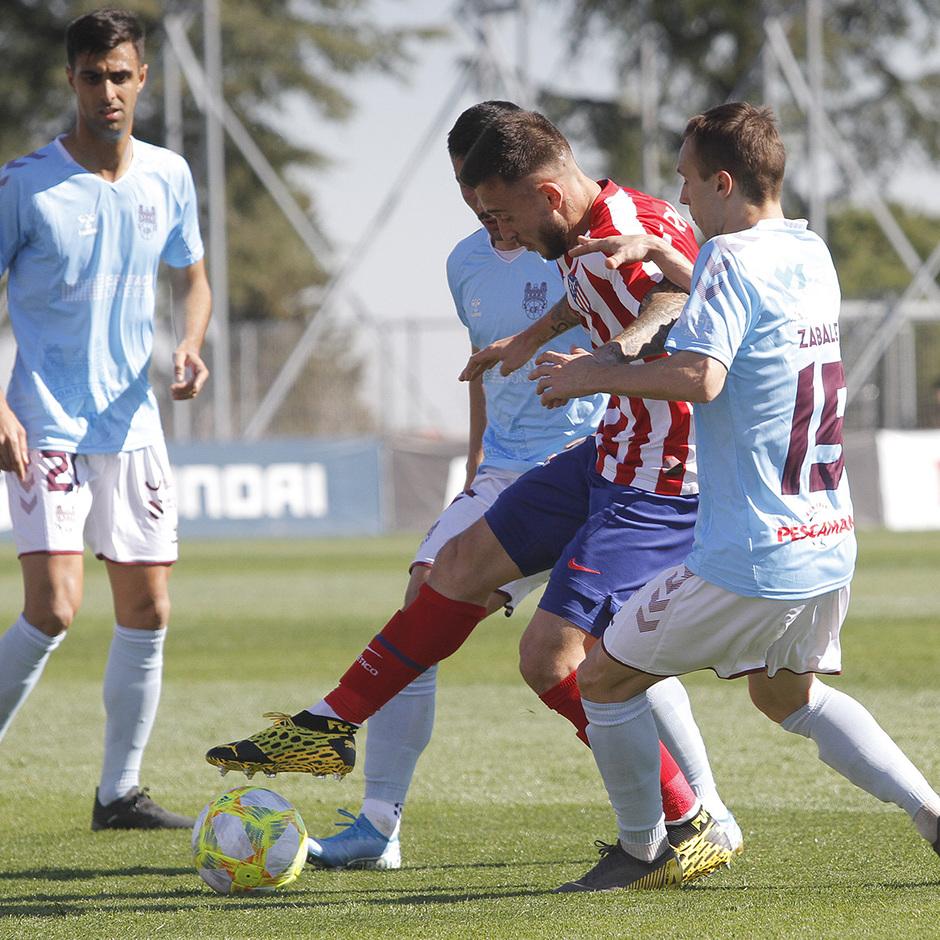 Temporada 19/20 | Atlético B - Pontevedra | Ricard