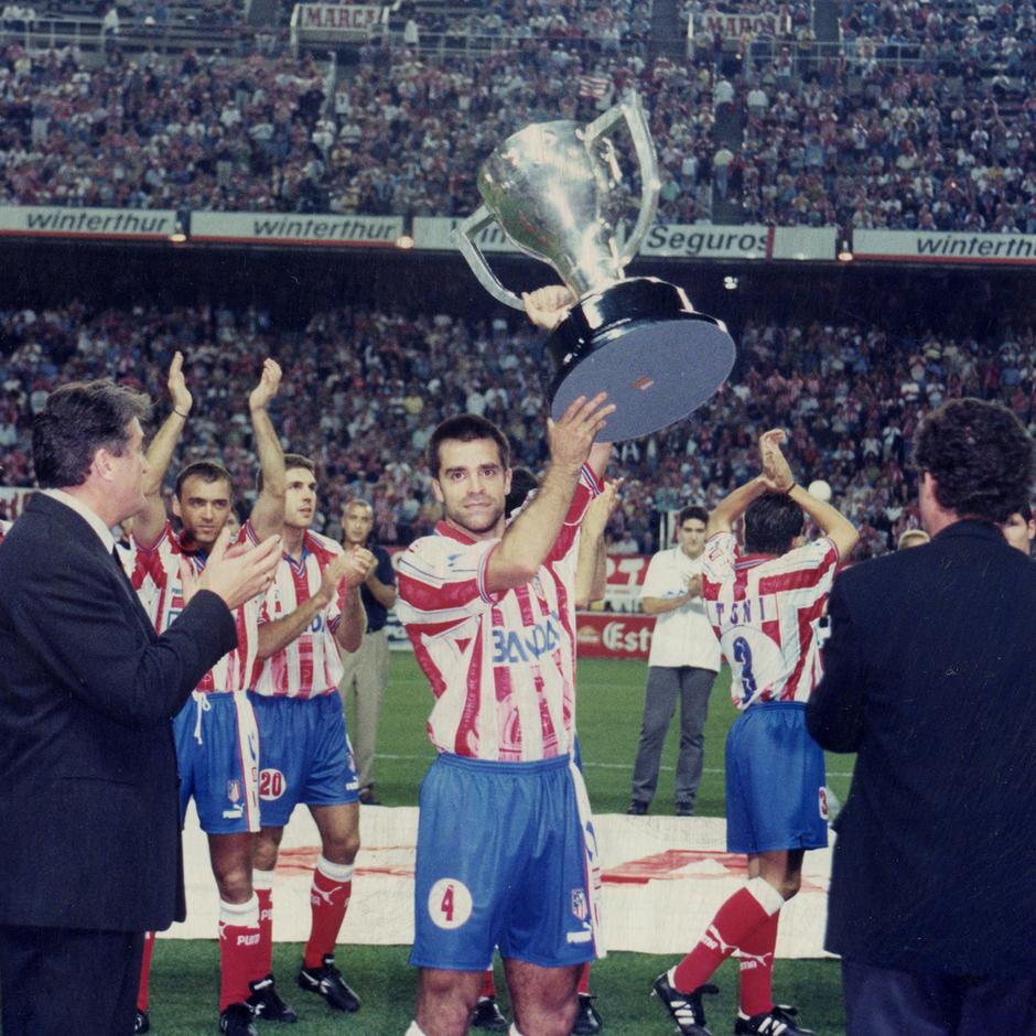 Radomir Antic y Solozabal | Entrega de LaLiga 1995-96
