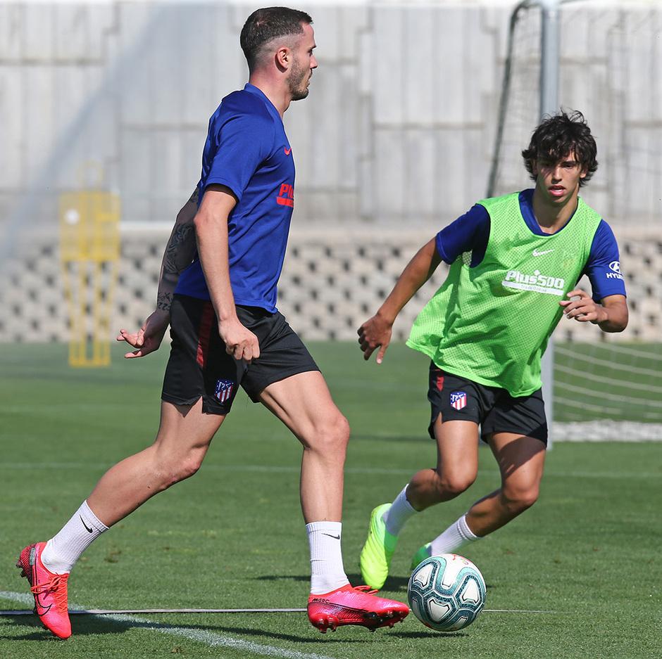 Temporada 19/20 | Entrenamiento primer equipo | Saúl y Joao