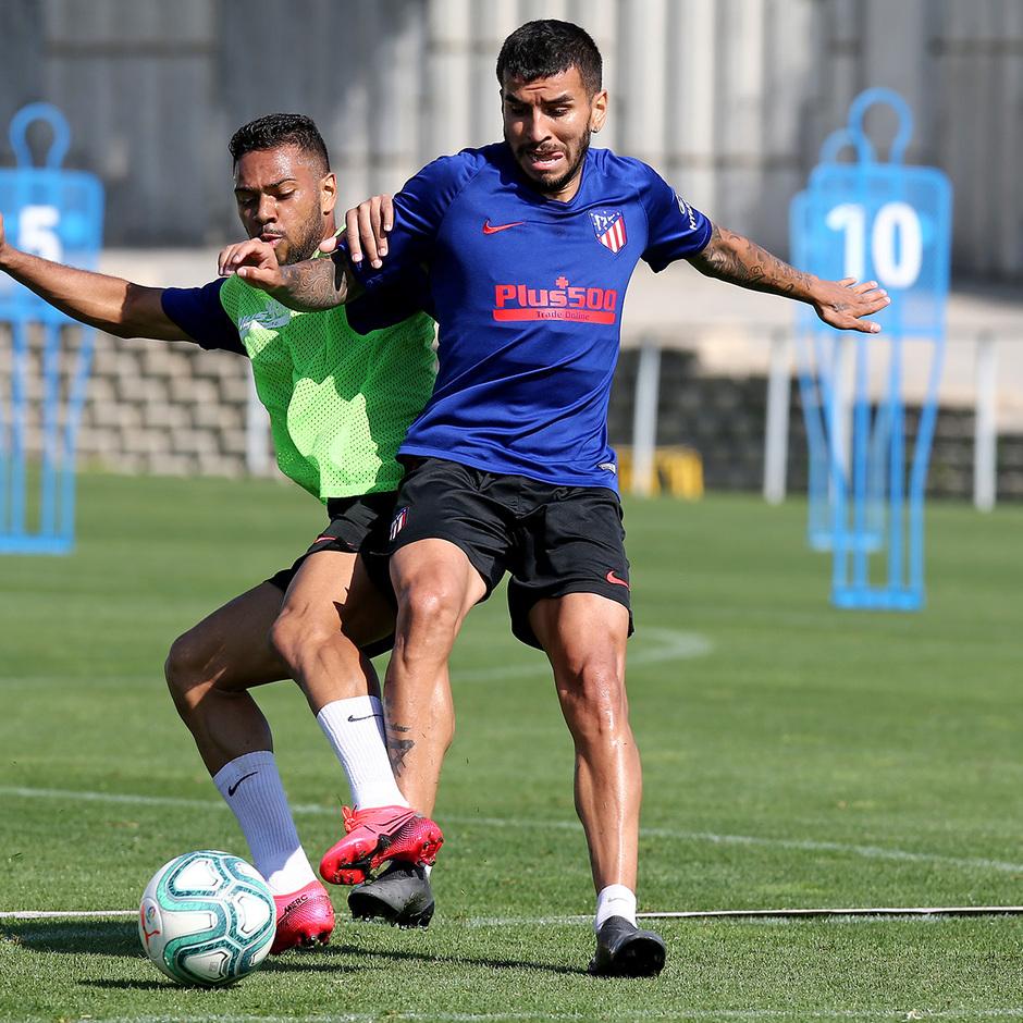 Temporada 19/20 | Entrenamiento primer equipo | Renan Lodi y Correa