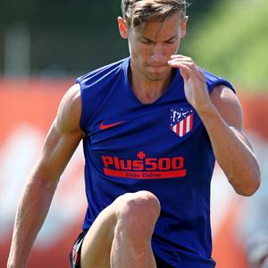 Temporada 19/20 | Entrenamiento primer equipo | Llorente