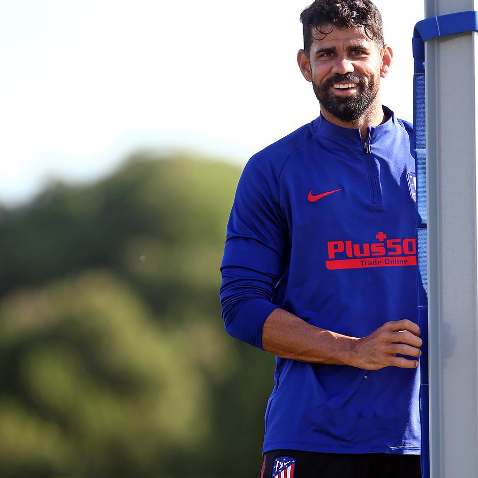 Temporada 19/20   Entrenamiento primer equipo   Diego Costa