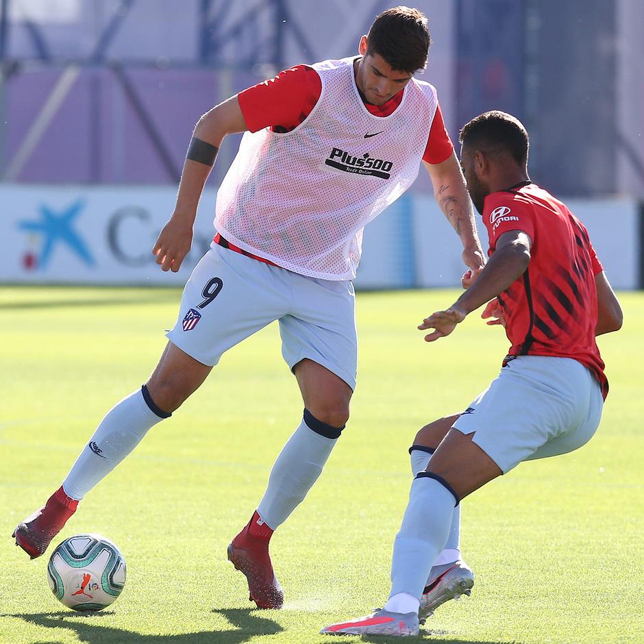 Temporada 19/20 | Entrenamiento | Morata y Renan Lodi