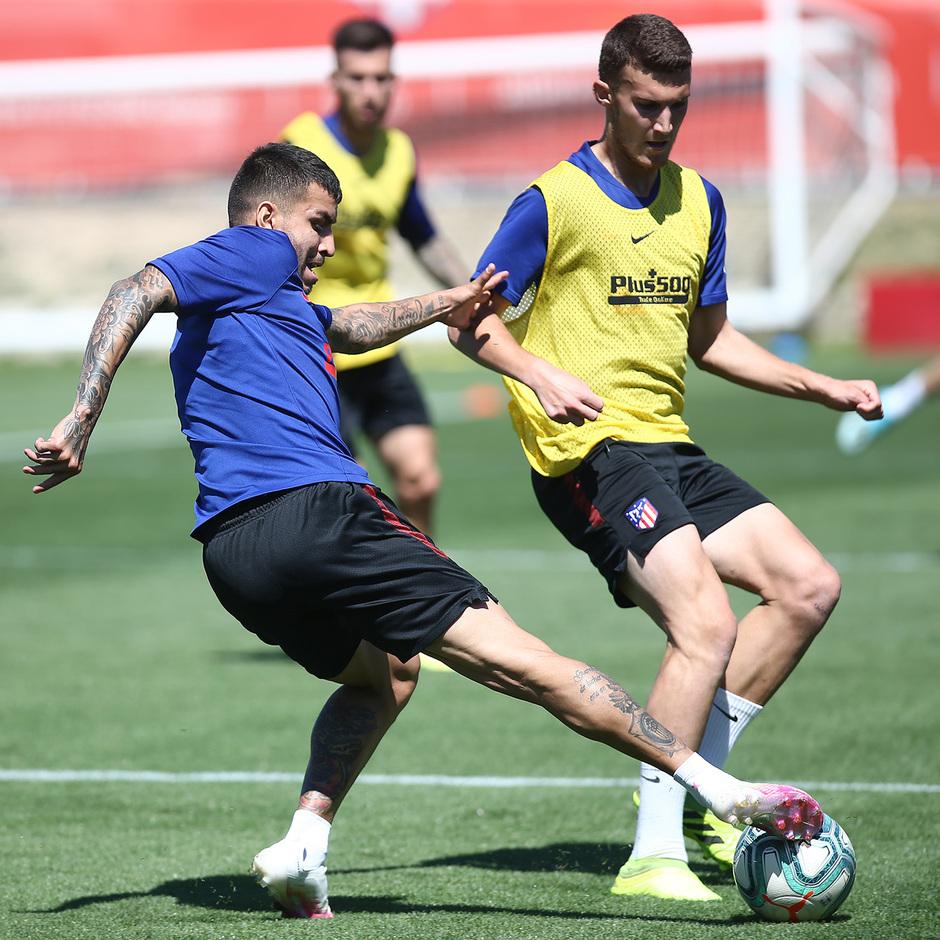 Temp 19/20 | Entrenamiento | Correa y Álvaro