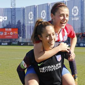 Lola Gallardo 2018-19 celebración pase final Copa de Reina