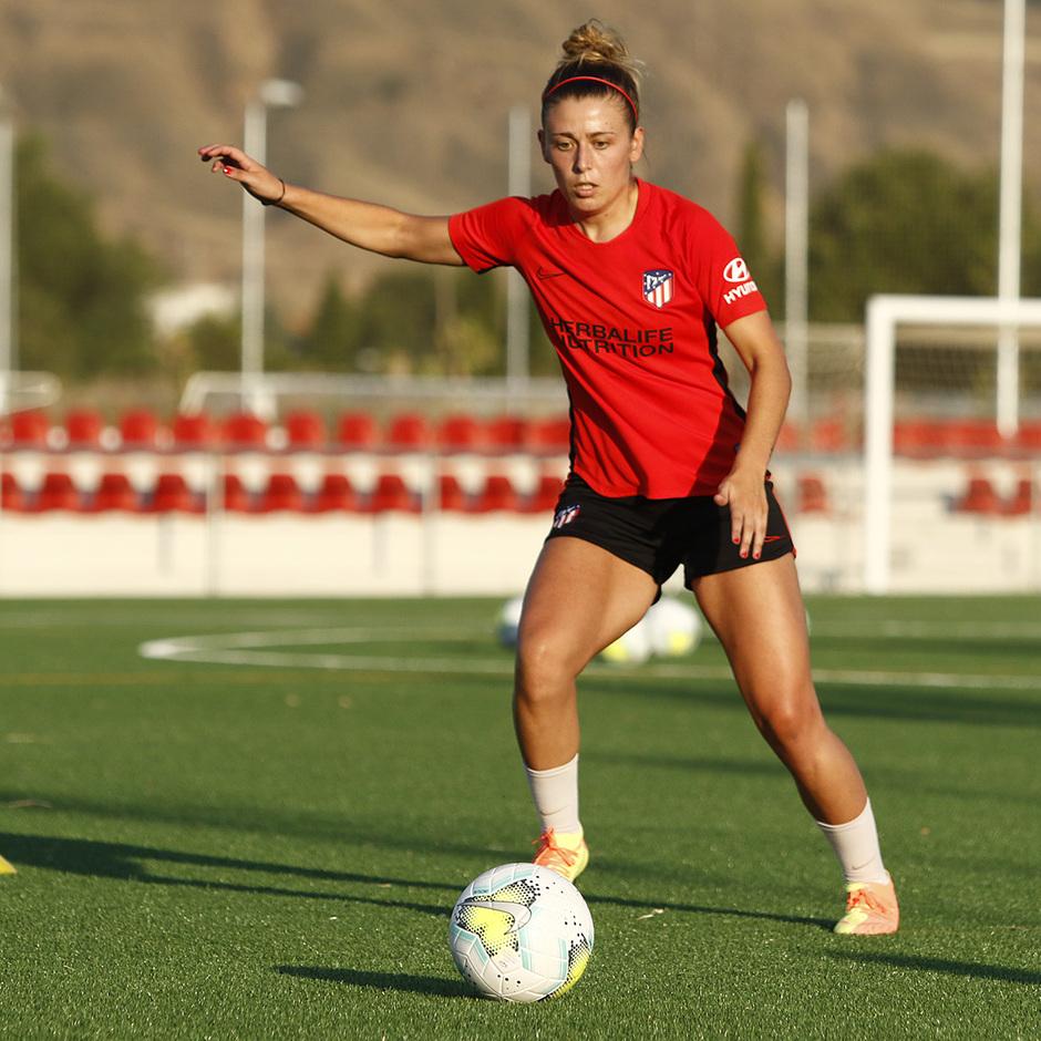 Temp. 20-21 | Entrenamiento Atlético de Madrid Femenino | Menayo