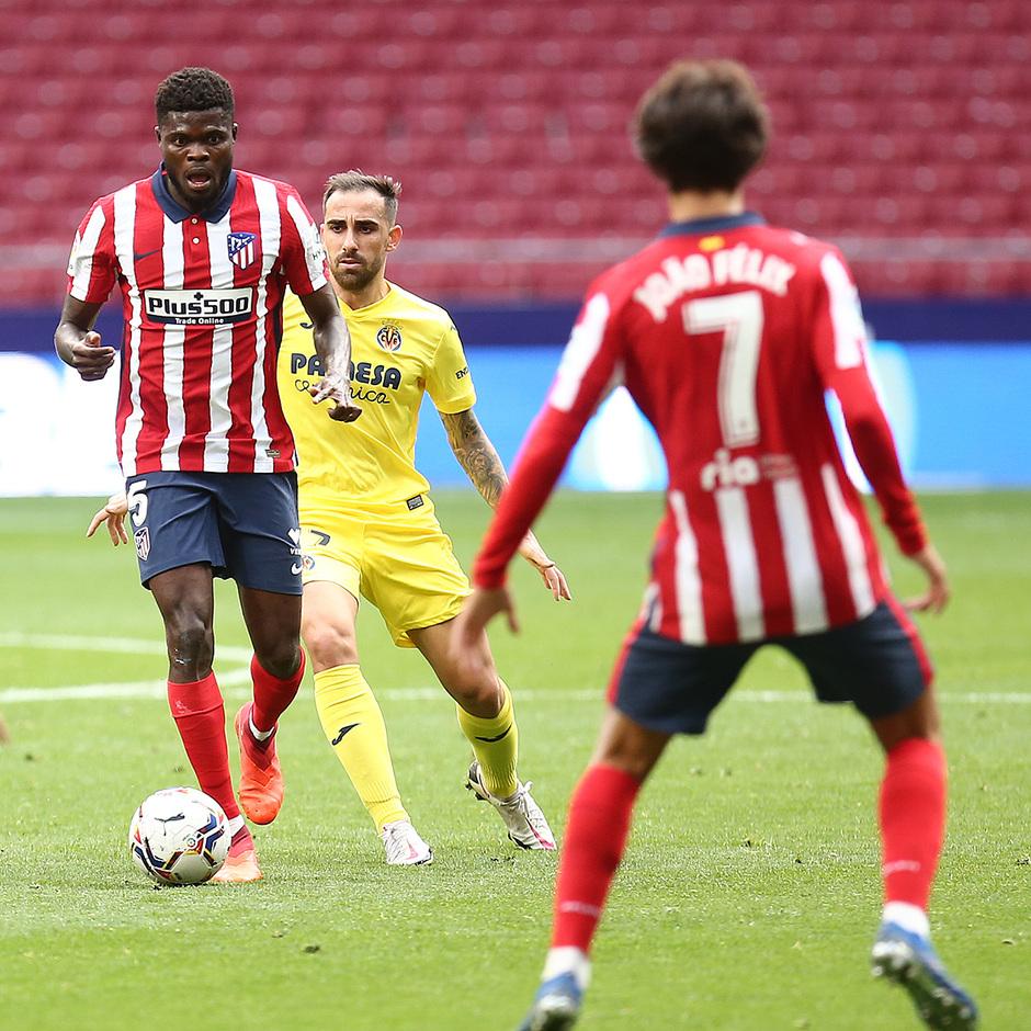 Temporada 20/21 | Atlético de Madrid - Villarreal | Joao Félix y Thomas