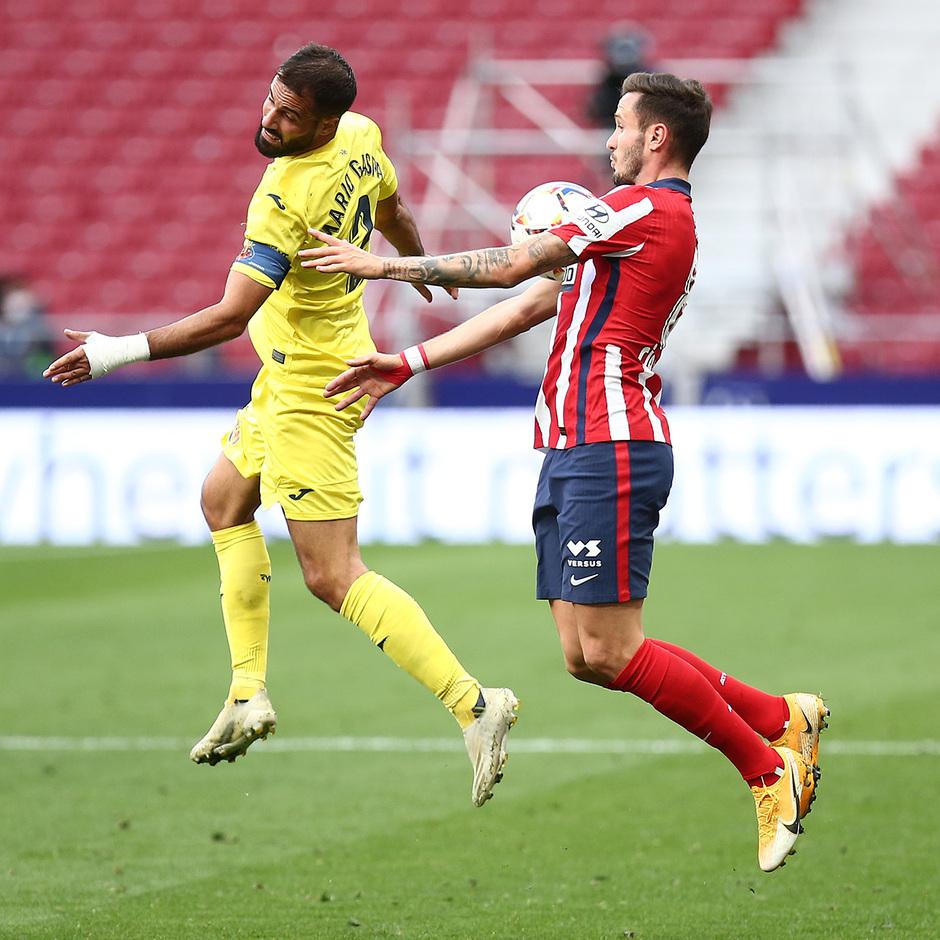 Temporada 20/21 | Atlético de Madrid - Villarreal | Saúl
