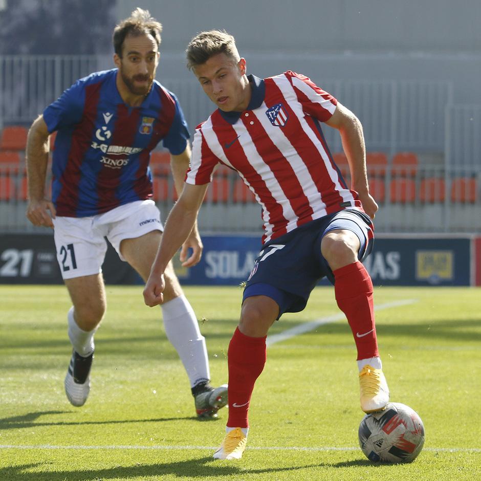 Temp 2020/21 | Atlético de Madrid B - Poblense | Germán Valera