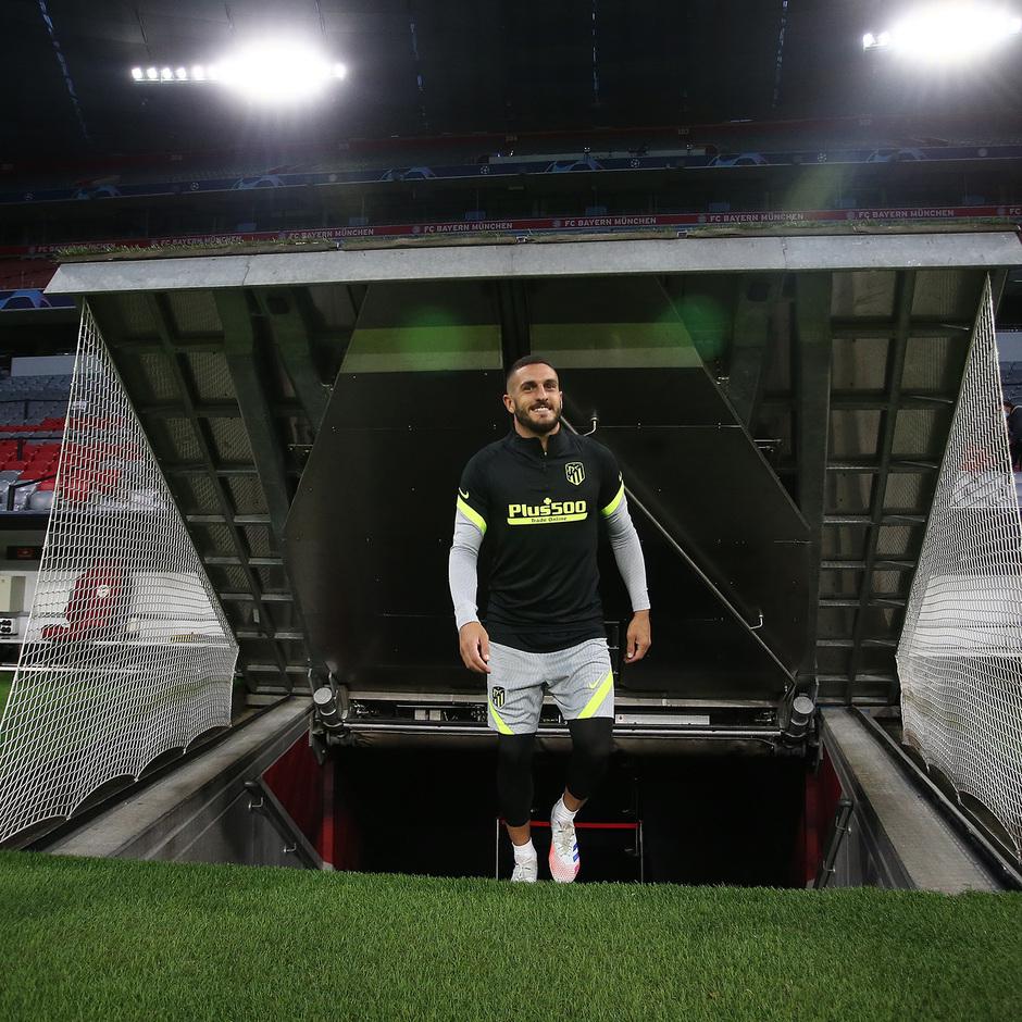 Temp: 20-21 | Entrenamiento en Múnich | Liga de Campeones | Koke