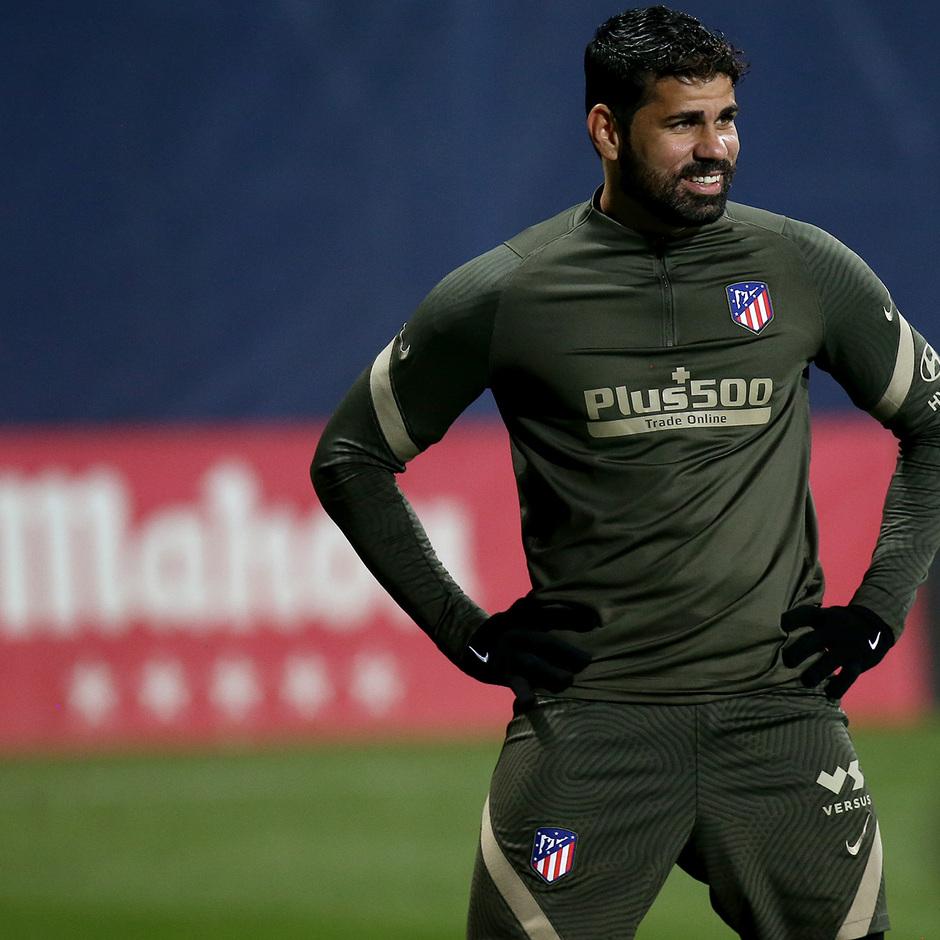 Temp. 20-21 | Entrenamiento Atlético de Madrid | Diego Costa