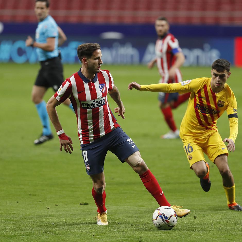 Temp. 20-21 | Atlético de Madrid - FC Barcelona | Saúl
