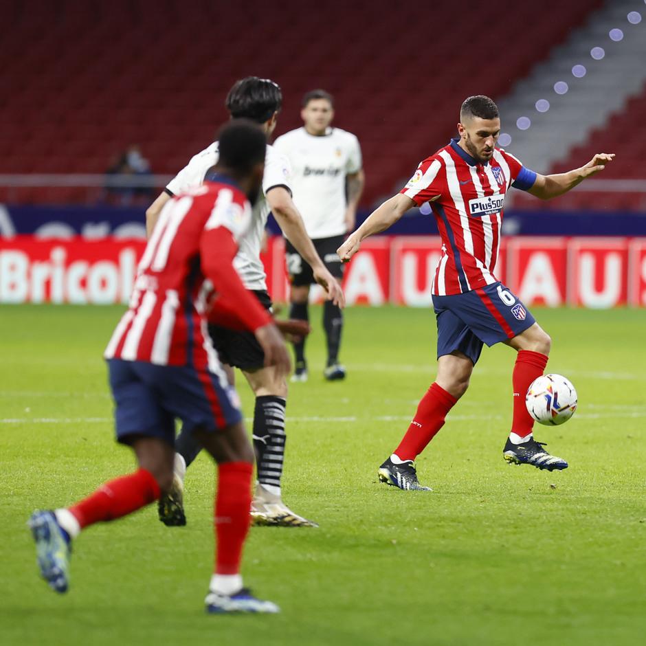 Temp 2020/21 | Atleti - Valencia | Koke