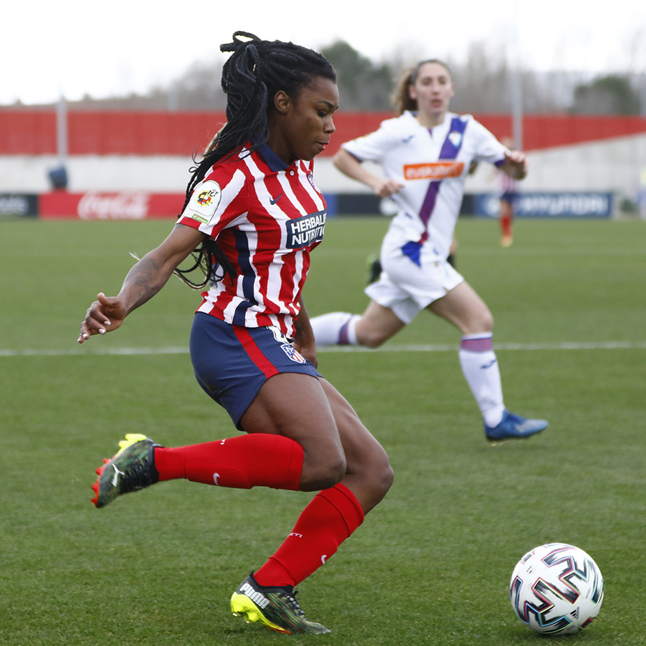 Temp. 20-21 | Atleti Femenino-Eibar | Ludmila asistencia