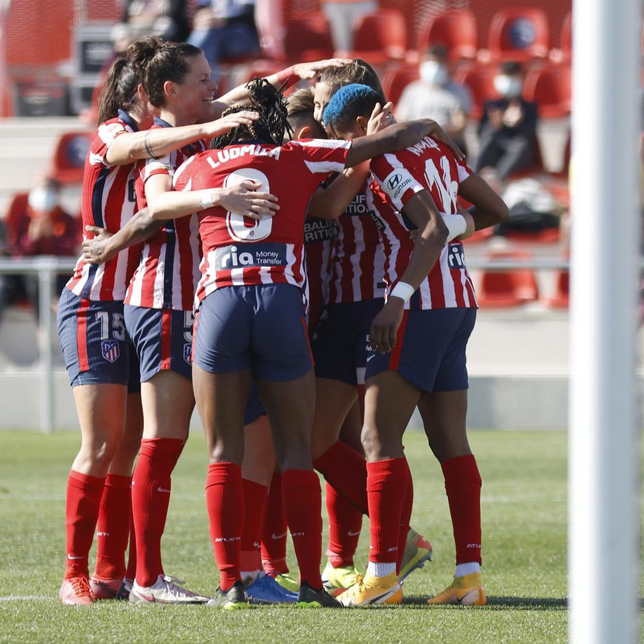 Temp. 20-21 | Atlético de Madrid Femenino - Valencia | Celebración