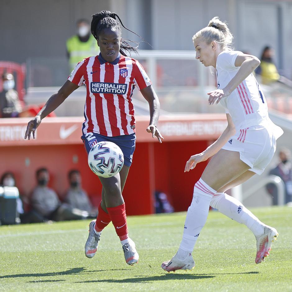 Temp. 2020/21 | Atleti Femenino-Real Madrid | Kazadi