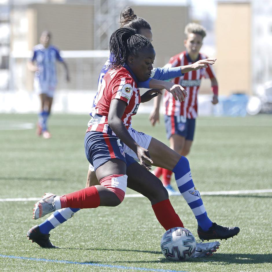 Temp. 20-21   Sporting de Huelva-Atleti   Kazadi