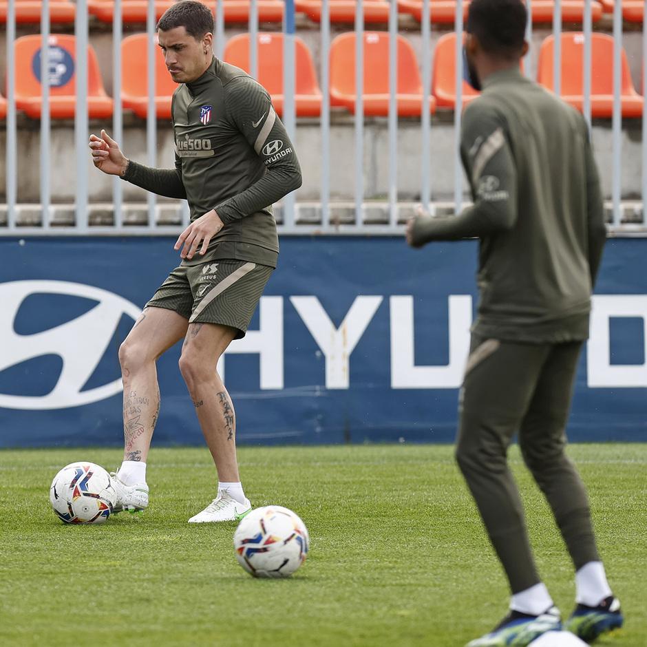 Temp. 20-21 | Entrenamiento Atlético de Madrid | Giménez