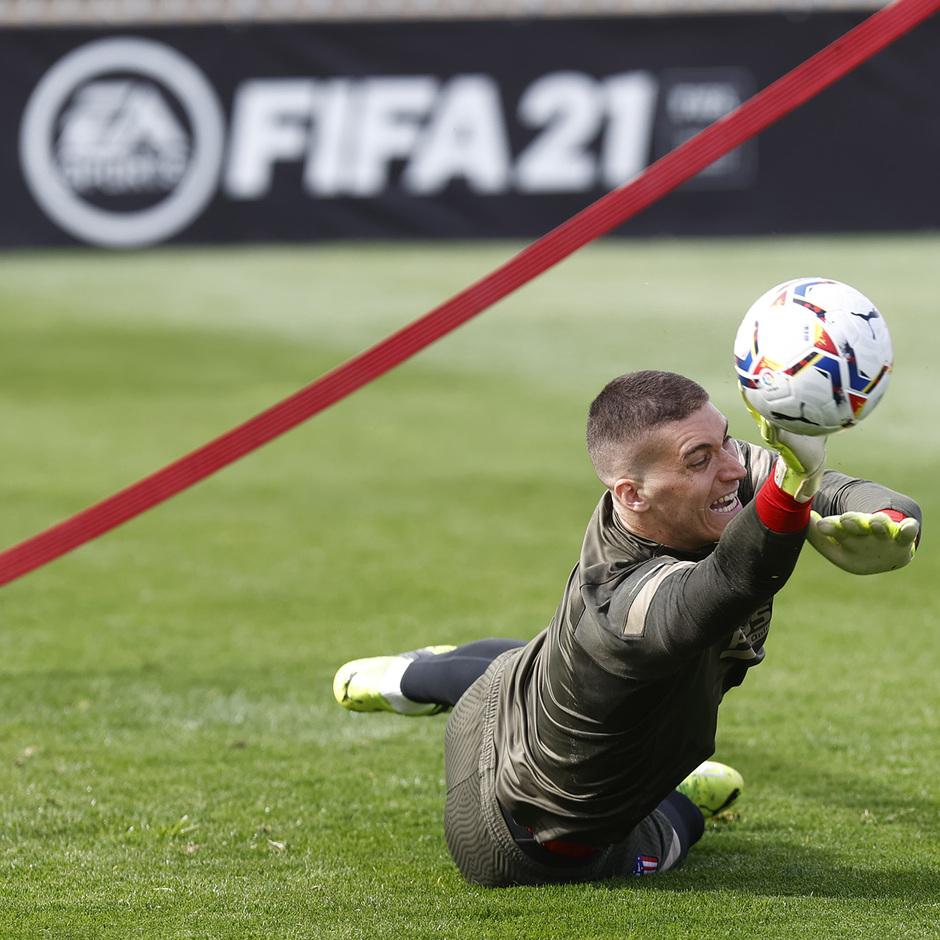 Temp. 20-21 | Entrenamiento Atlético de Madrid | Ivo