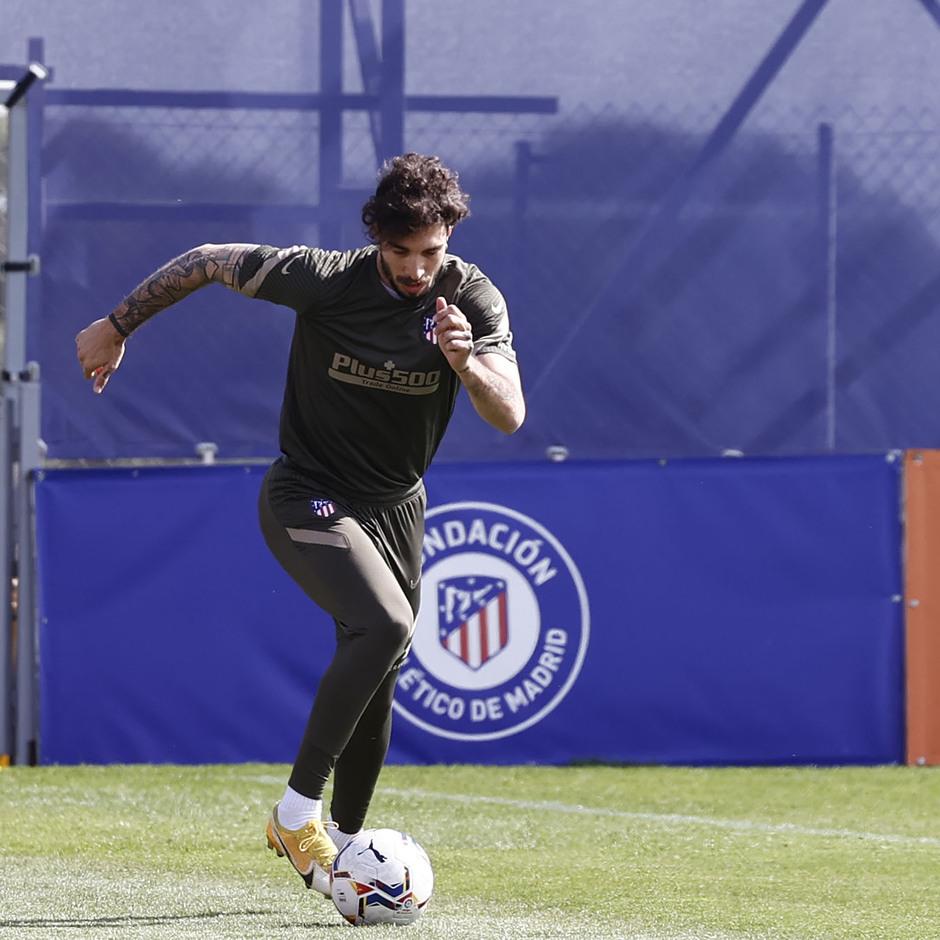 Temp. 20-21 | Entrenamiento Atlético de Madrid | Vrsaljko