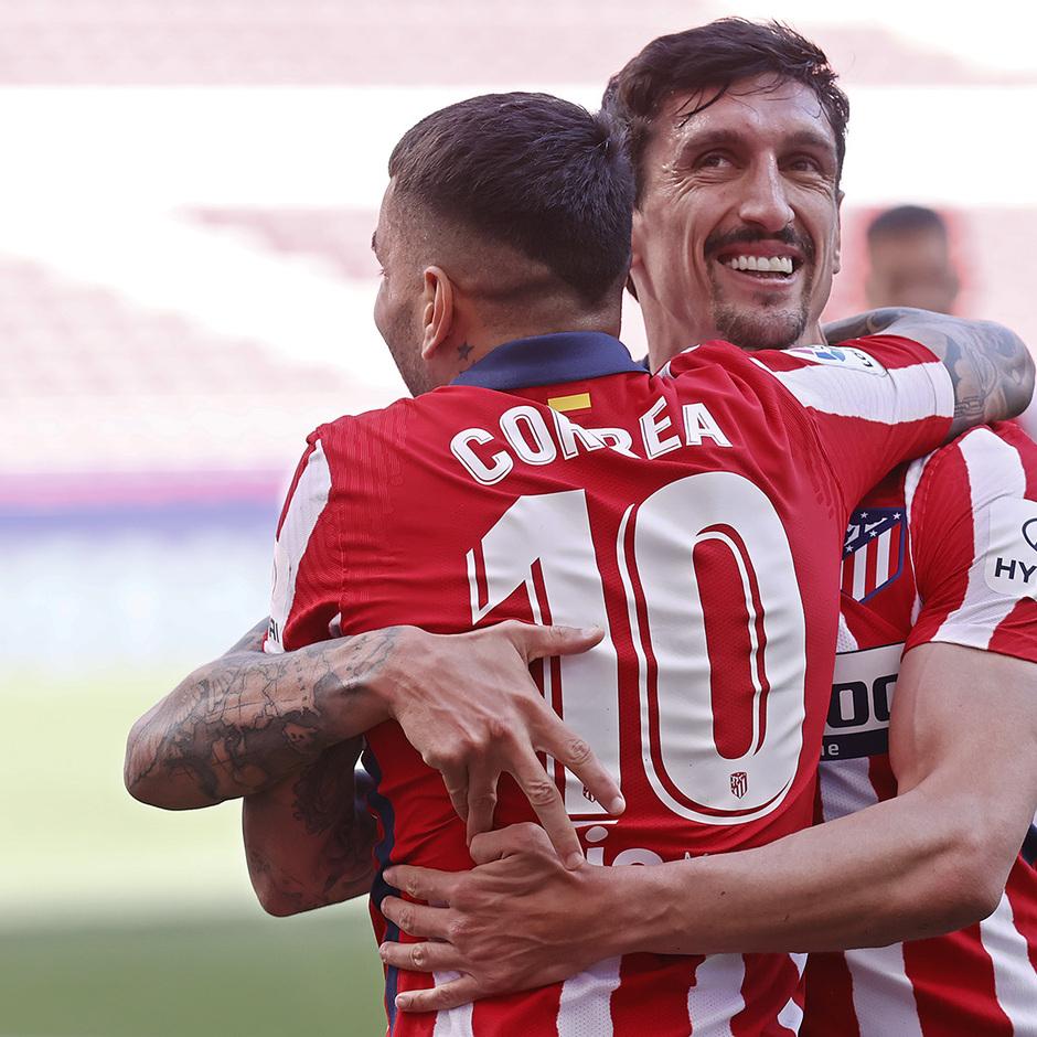 Temp. 20-21 | Atleti-Eibar | Correa y Savic