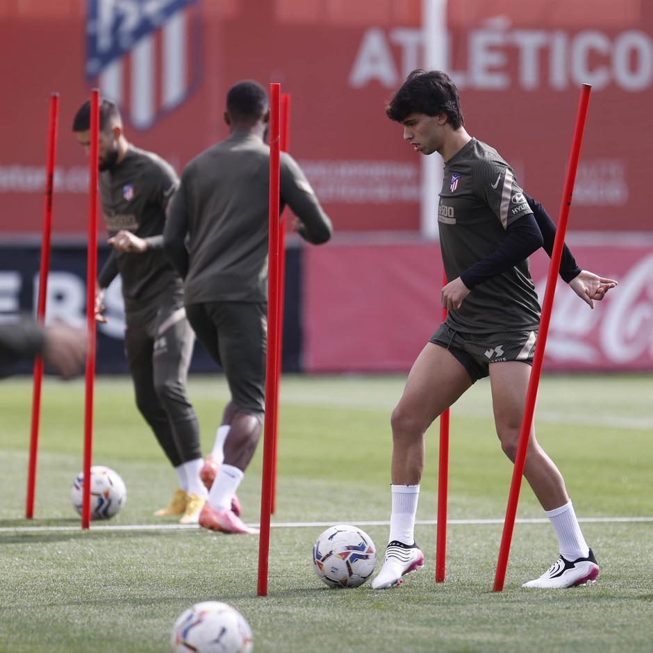 Temp. 20-21 | Entrenamiento Atlético de Madrid | Joao Felix