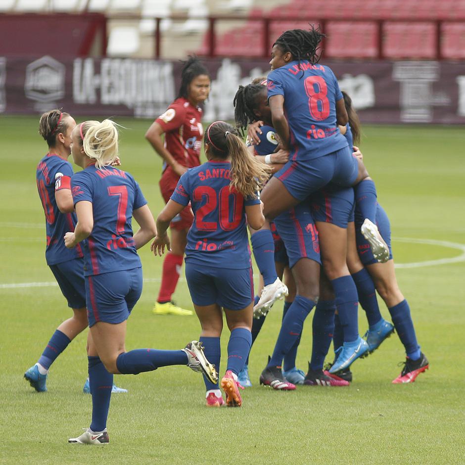 Temp. 20-21 | EDF Logroño - Atlético de Madrid Femenino | Celebración