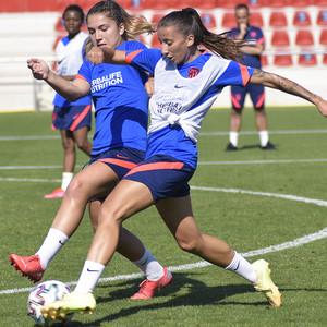 Temp. 21-22   Entrenamiento Atlético de Madrid Femenino   Sheila García