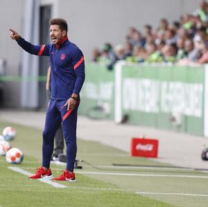 Temp 21/22   Wolfsburg - Atlético de Madrid   Simeone