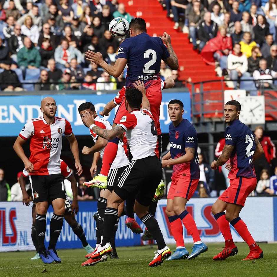 Temp 21/22 | Feyenoord - Atlético de Madrid | Giménez